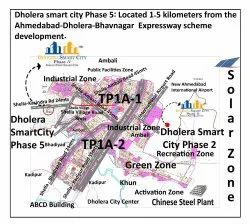 Residential Plots In Dholera Smart City Near ABCD Building