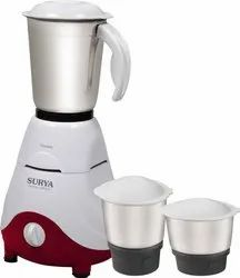 Surya Mixer Grinder, For Wet & Dry Grinding, 500 W