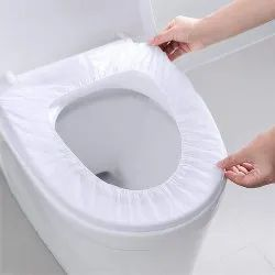 Newvent White Non Woven Fabric Toilet Seat Cover