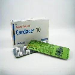 Cardace 10 Tablet (Ramipril )