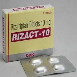 Rizact-10 Mg Tablets ( Rizatriptan )