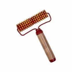TORA Acupressure Handle Wooden Roller Back Massager