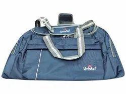 Polyester Unistar Sky Blue Luggage Bag