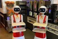 Restaurant Hotel Server Waiter Robot