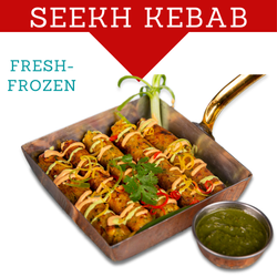 JUST2EAT Frozen Chicken Seekh Kabab, Packaging Type: LD Food Grade