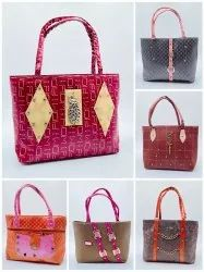 MIX MODELS AND MIX COLOURS TRENDY ATTRACTIVE LADIES HAND BAGS - SNT-312