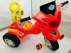 Red Plastic Bheem Children Tricycle