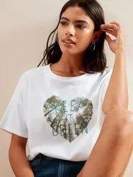 Branded Export Surplus Ladies T-Shirt