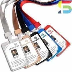 Aluminum PVC ID Card Holder