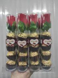 Brown Round Dark Chocolate Gift Pack
