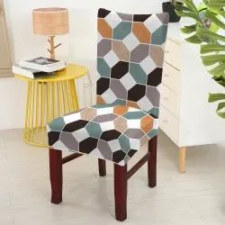 Decorian Polycotton Dining Chair Cover, For Home, 180
