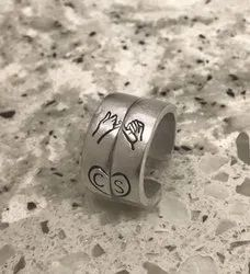 Customized Pinky Promise Ring