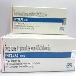 Intalfa (Recombinant Human Interferon Alfa 2 B Injection ), Airway, Worldwide