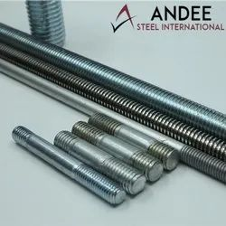 Mild Steel Threaded Stud Bolts, For Industrial