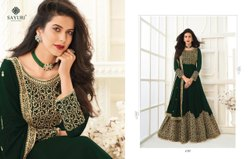 Embroidered Georgette Party Wear Salwar Suit