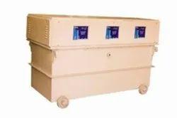 125 kVA Oil Cooled Servo Voltage Stabilizer