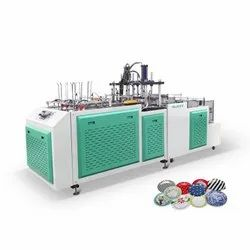 Fully Automatic Triple Die Dona Plate Making Machine
