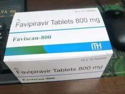 Faviscan Favipiravir 800mg Tablets