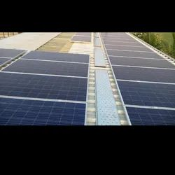 Walkway System For Rooftop Solar Power Plant
