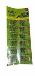 80 gm Per Blister Sheet 6mm Green Cardamom