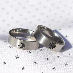 Custom Sun and Moon Rings