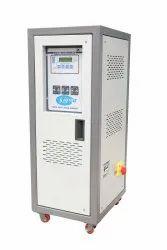 Automatic 98% Three Phase Servo Stabilizer, With Surge Protection, 300V - 490V AC
