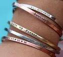 Personalized Jewelry Cuff Bracelet