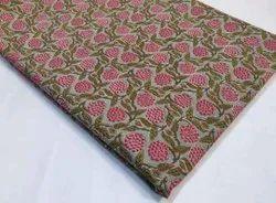 Printed Cotton Suit Fabric For Ladies