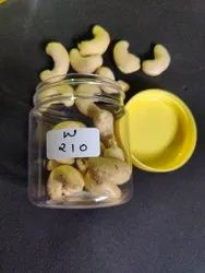 Natural Cashew W210, Packaging Size: 10 kg