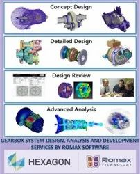 Romax Software - Gear Box System Design Analysis And Development Services
