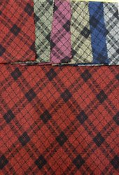 Check Milan Spandex Fabric