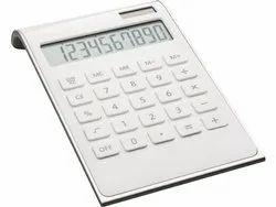 白色时尚反映瓦琳达60154-WESR 60154-WESR基本计算器(10位数)