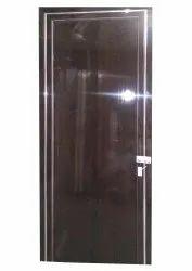 Dark Brown KB 74 Maruti PVC Bathroom Door/ PVC FMD Doors, Thickness: 20 mm, Size: 75 X 23