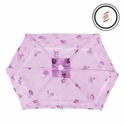 6 Ribs Baby Print Umbrella Net