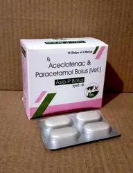 Aceclofenac Paracetamol Bolus
