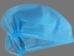 Blue Non Woven Disposable Surgeon Cap, Quantity Per Pack: 100 Pc, Size: 18inch