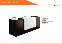 pre lam particle board Office Reception Table RT-02
