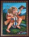 Hanuman Ji Tanjore Painting