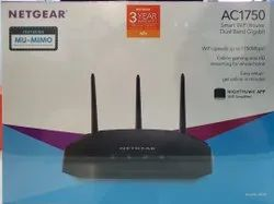 Black Netgear R6350 Ac1750 Smart Wifi Router