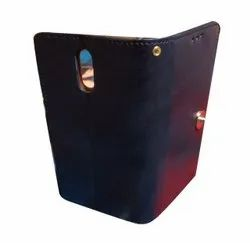 Leather Blue One Plus 6 Flip Cover