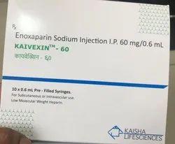 Kaivexin-60 Enoxaparin Injection 60 mg/0.6 ml