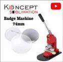Button Badge Machine 75mm