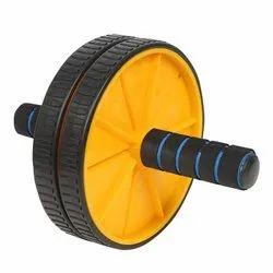 Double Ab Wheel Roller
