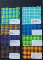 Seiko Textiles Linen Checks And Stripes Fabrics, Machine wash, 150 Gsm