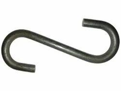 MS Mild Steel S Hook, Size: 7 Inch