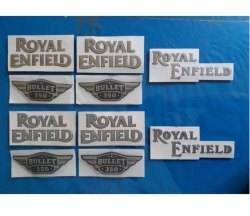 Vinyl Royal Enfield Stickers