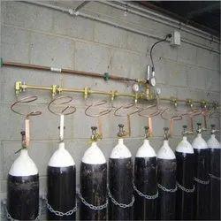 Oxygen Gas Pipeline Installation Service