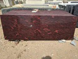 Tiger Red Granite Slab