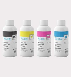 Neha BT6000, BT5000 For Use In DCP-T300, T500W, T700W, MFC-t800W Ink (1 Litre)