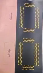 Black and Golden Printed Matte Laminated Paper